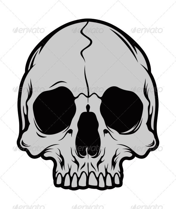 GraphicRiver Skull 2 5380414