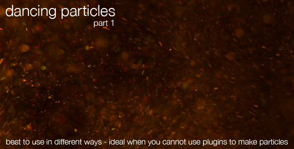 Dancing Particles Part 1