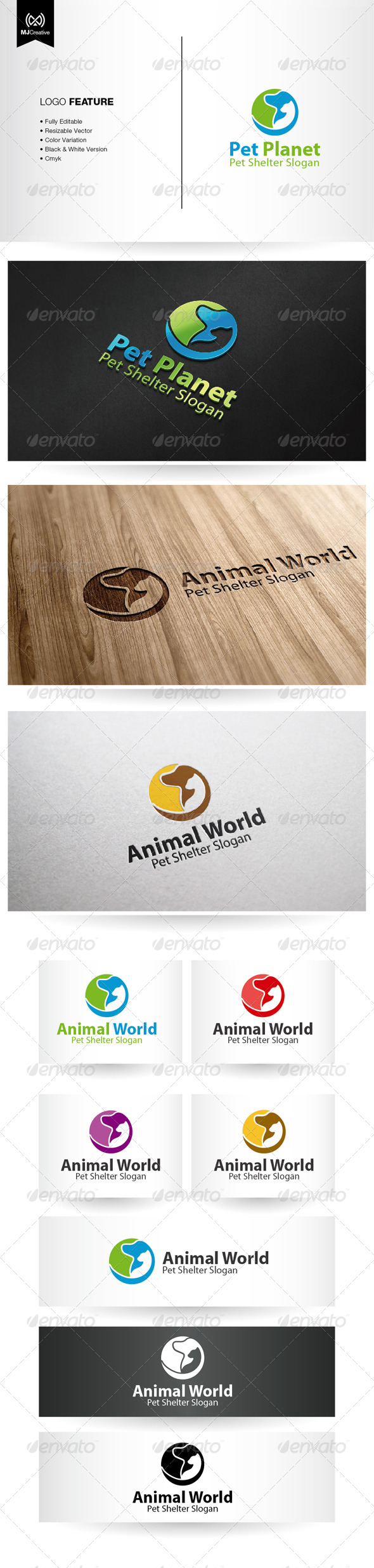 GraphicRiver Pet Shelter Logo 5380724