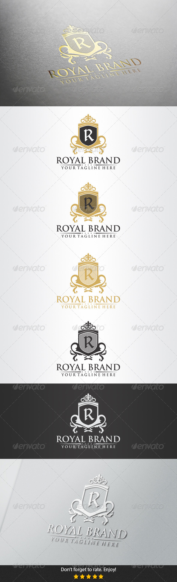 Royal Brand Logo - Crests Logo Templates