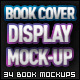 Book Cover Display Mockup Bundle - GraphicRiver Item for Sale
