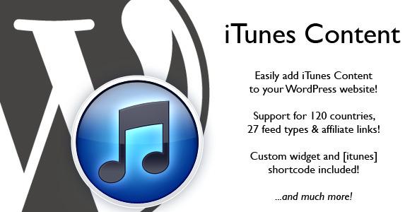iTunes Content