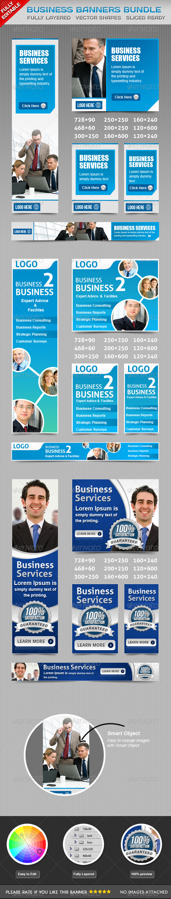 GraphicRiver Business Banners Bundle Vol 1 5382173