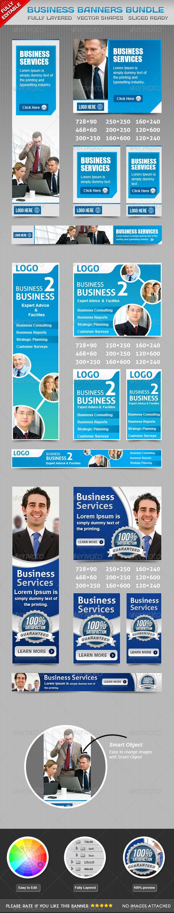 Business Banners Bundle Vol 1