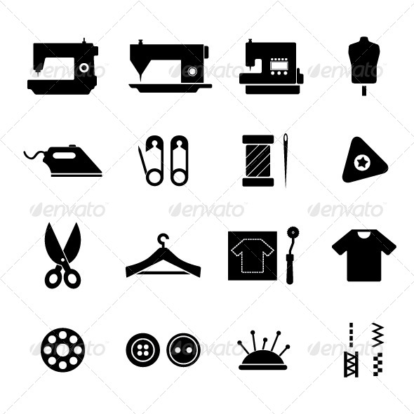 GraphicRiver Sewing Icon 5382653