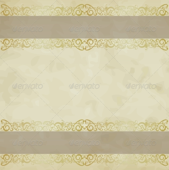 GraphicRiver Vintage Vector Background 5382655