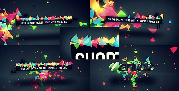 After Effects Project - VideoHive Confetti Burst 552911