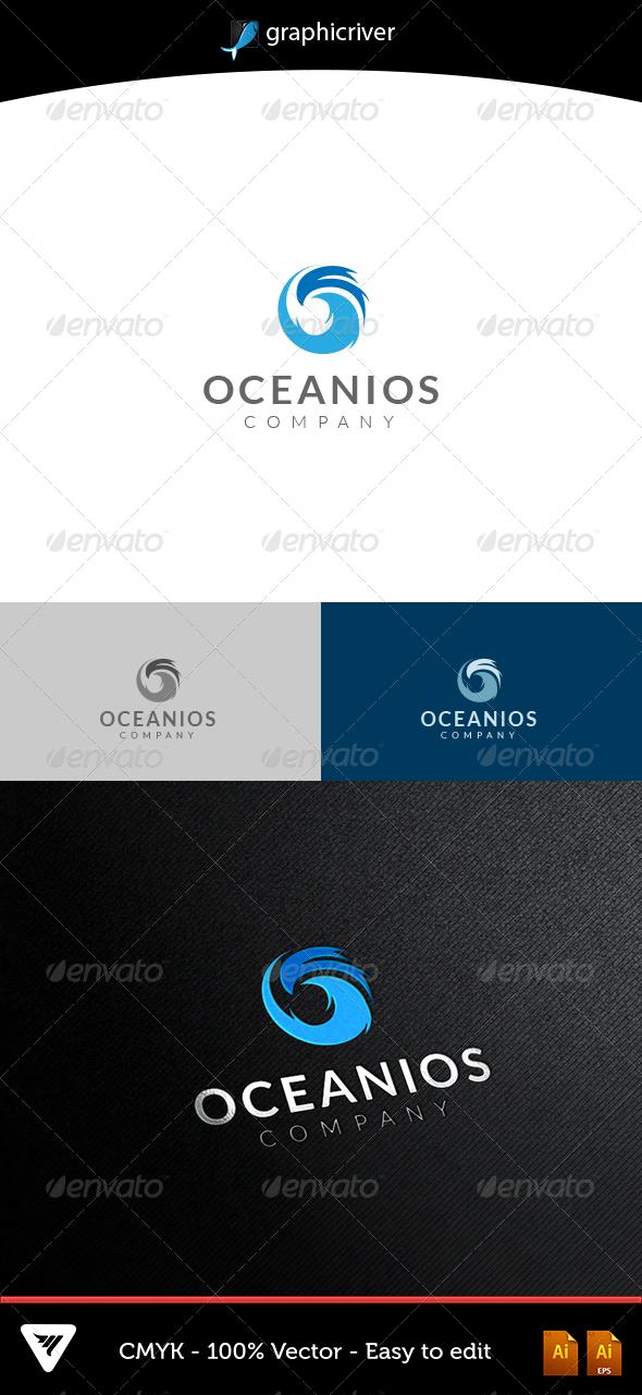 GraphicRiver Oceanios Logo 5382932