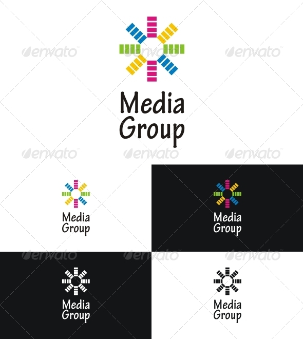 Media Group - Vector Abstract