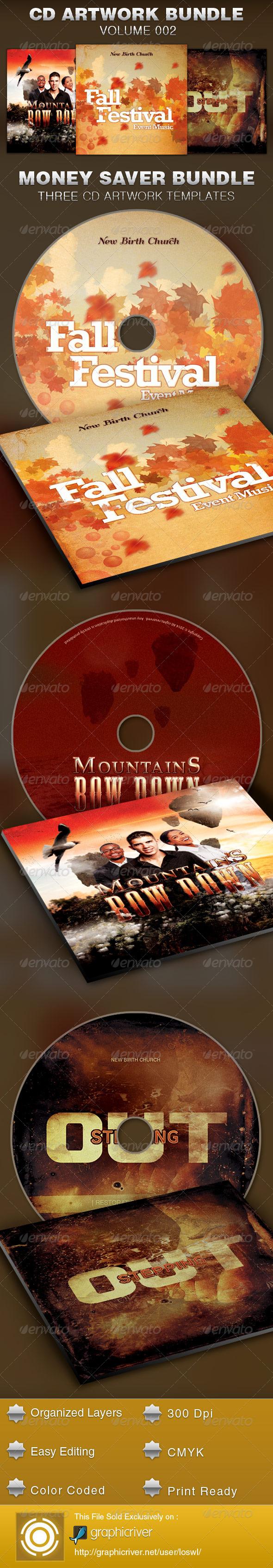 GraphicRiver CD Cover Artwork Bundle-Vol 002 5383864
