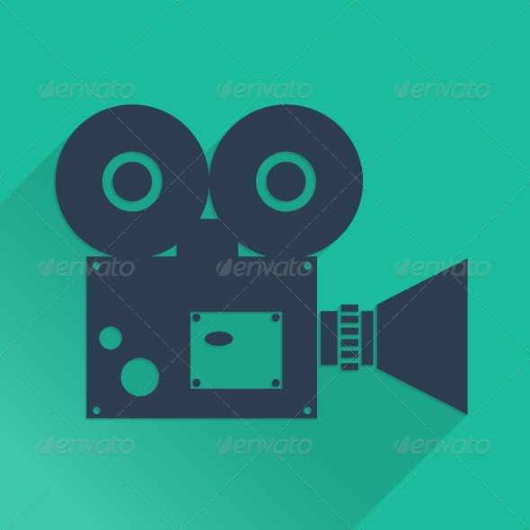 GraphicRiver Flat Camera 5383961