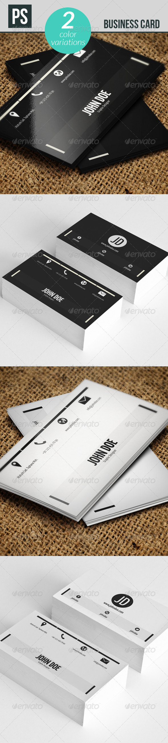GraphicRiver Business Card 5290359
