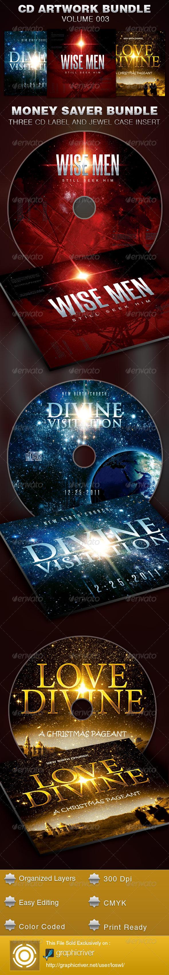 GraphicRiver CD Cover Artwork Bundle-Vol 003 5384443