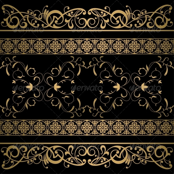 GraphicRiver Vintage Vector Background 5384616