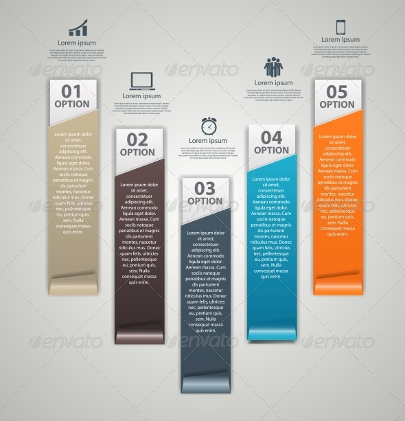 GraphicRiver INFOGRAPHICS design elements vector illustration 5384818