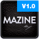 Mazine: Magazine / Blog WordPress Theme