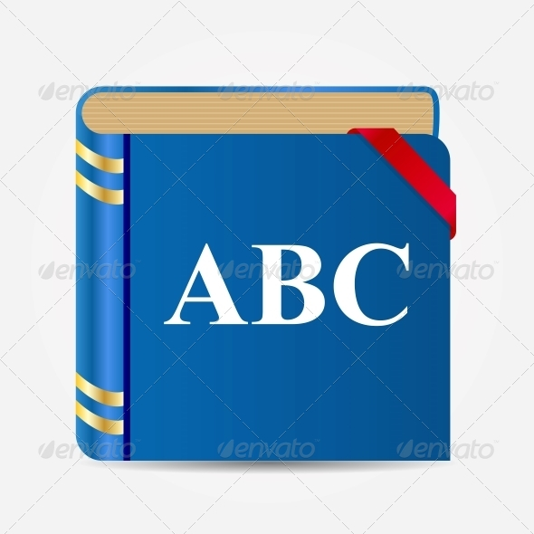 GraphicRiver Book Icon Illustration 5384921