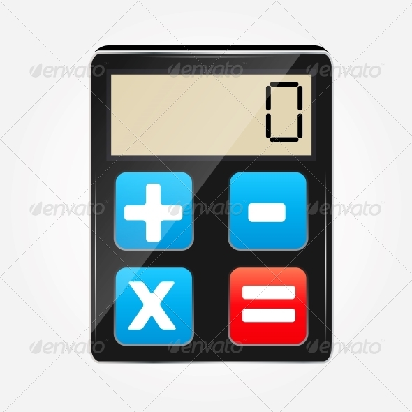 GraphicRiver Calculator Icon 5384981