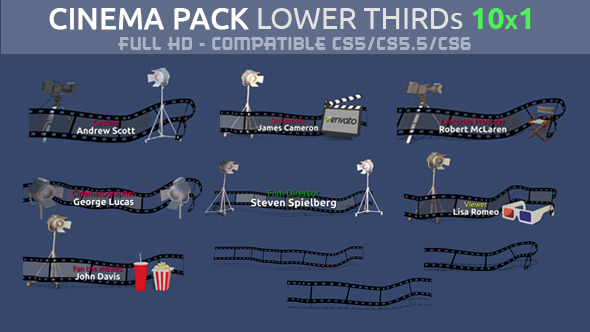Cinema Pack Lower Third