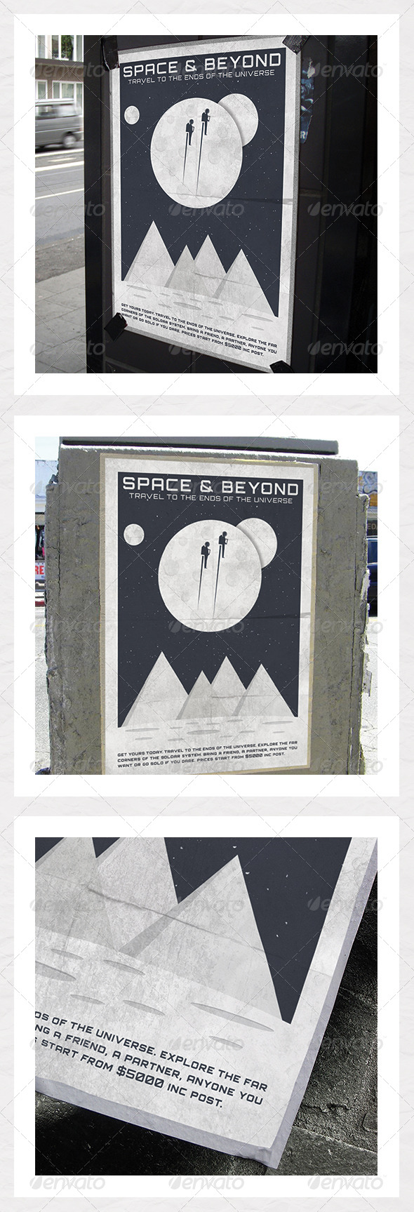 GraphicRiver Space Adventure Poster 5354773