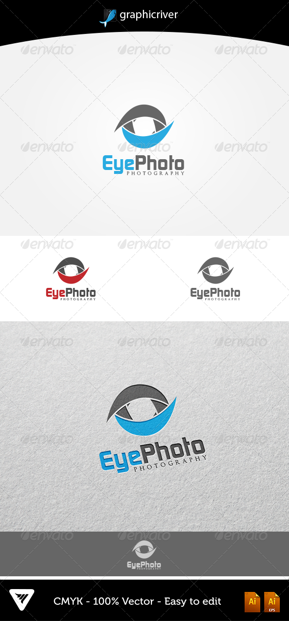 GraphicRiver Eye Photo Logo 5385875