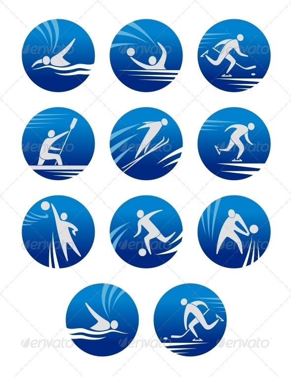 Sport Icons - Sports/Activity Conceptual