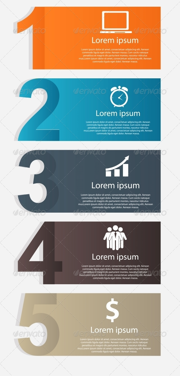 GraphicRiver Infographics Design Elements Vector Illustration 5386017