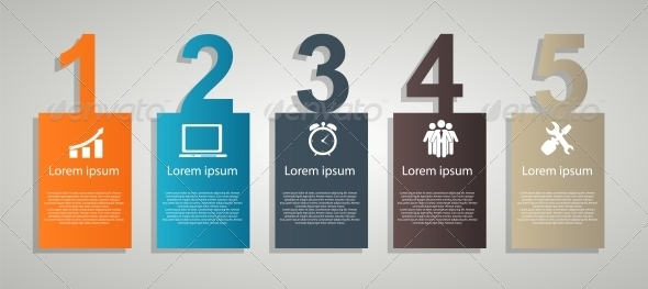 GraphicRiver Infographics Design Elements Vector Illustration 5386030