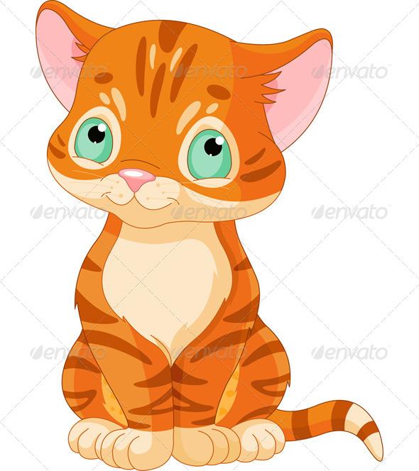 GraphicRiver Tabby Kitten 5386052
