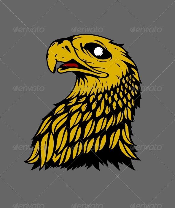 GraphicRiver Eaglehead Vector 5386216