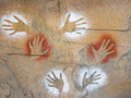 Aboriginal Hand Prints on Rock - PhotoDune Item for Sale