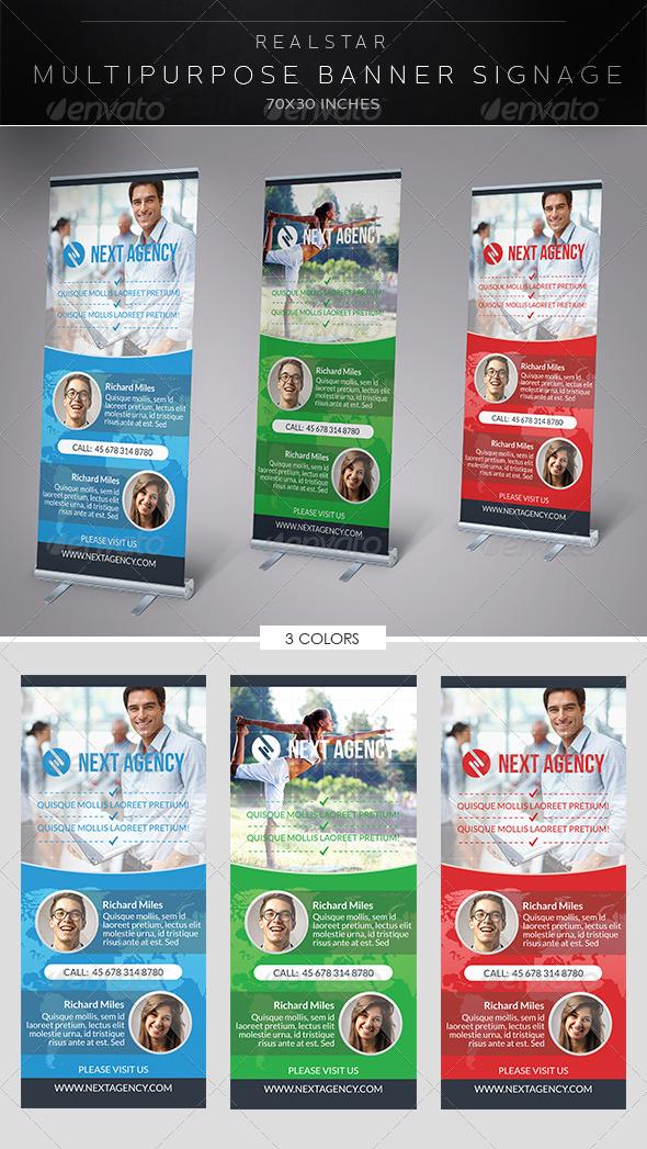 Multipurpose Banner Signage - Signage Print Templates