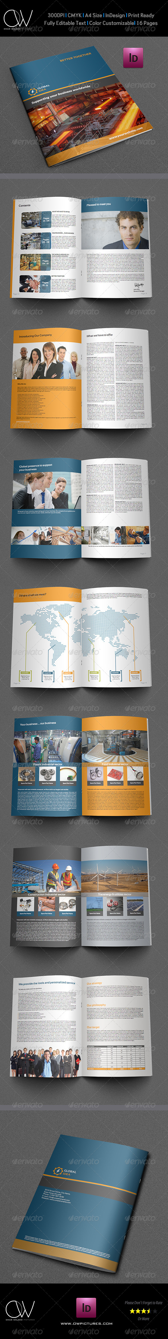 Corporate Business Brochure Template Vol.2 - Corporate Brochures