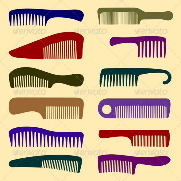 GraphicRiver Combs 5388141