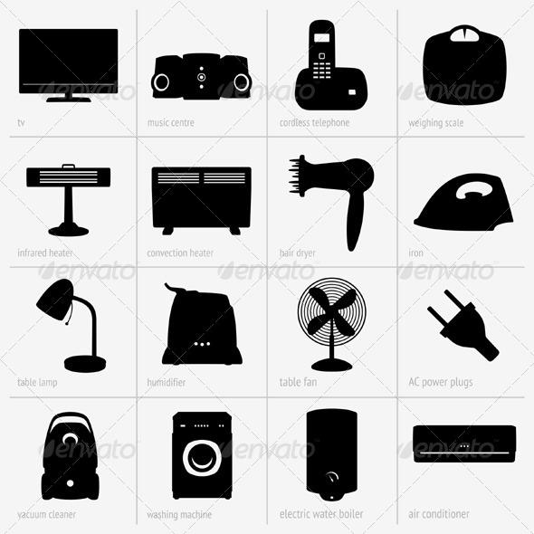 GraphicRiver Home Appliances 5388167 Created: 16