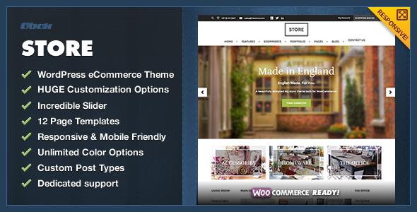 Store – eCommerce WordPress Theme (eCommerce) images