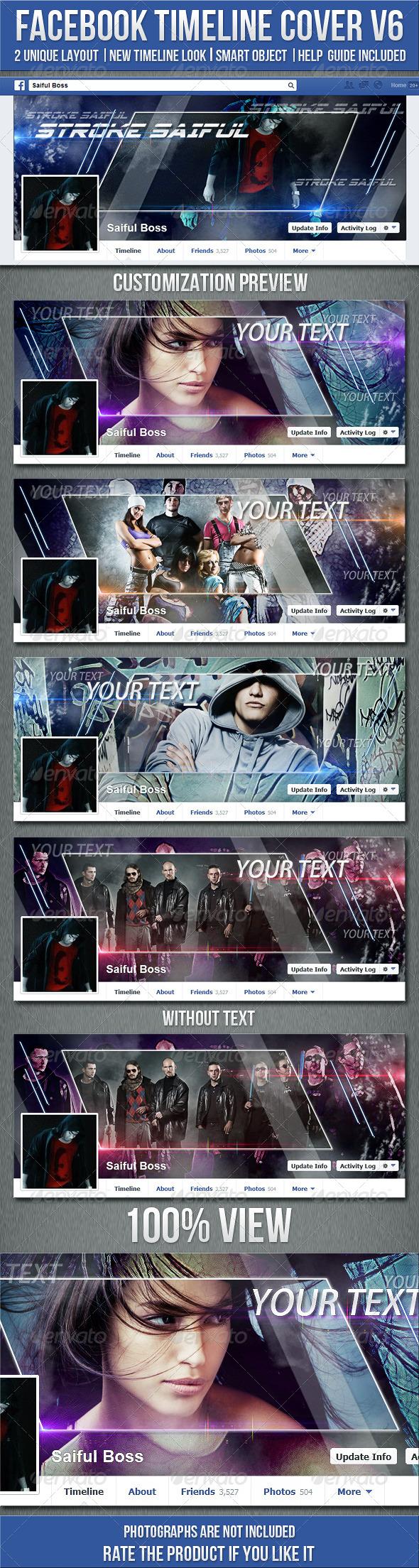FB Timeline Cover V6 - Facebook Timeline Covers Social Media
