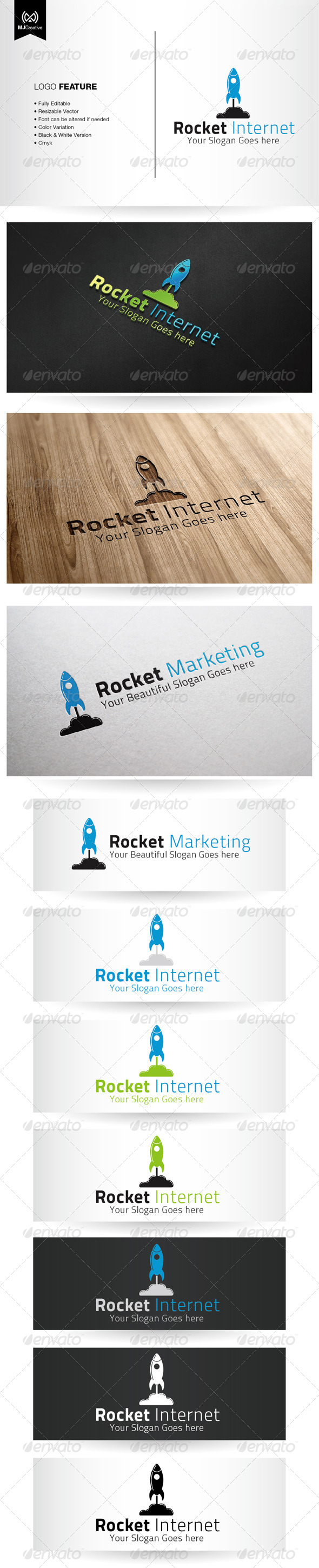 GraphicRiver Rocket Internet Logo 5388468