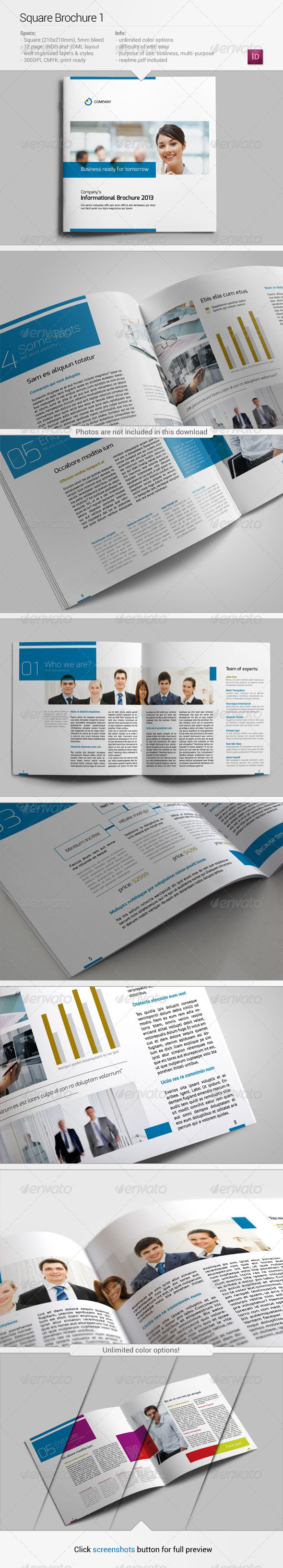 Square Brochure 1 - Corporate Brochures