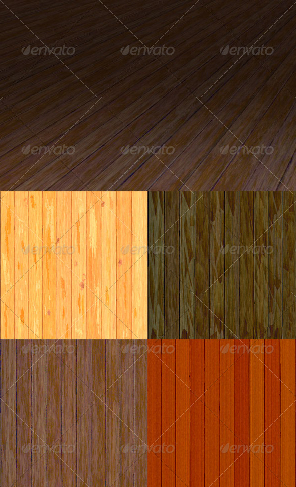 32 Tileable Wooden Plank Textures Pack