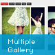 jQuery Multiple Scroll Portfolio Gallery