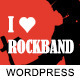 I Love Rockband - Music Band Wordpress Theme