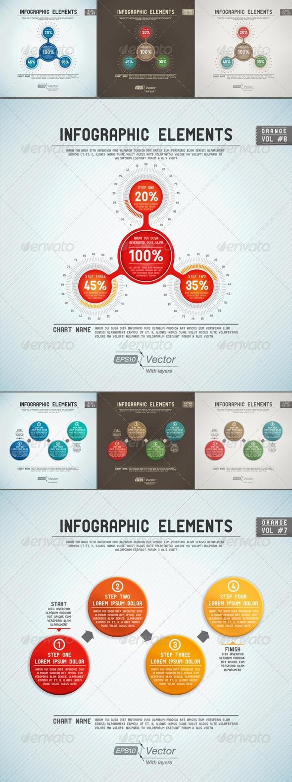GraphicRiver Infographic Elements Bubbles 5389519