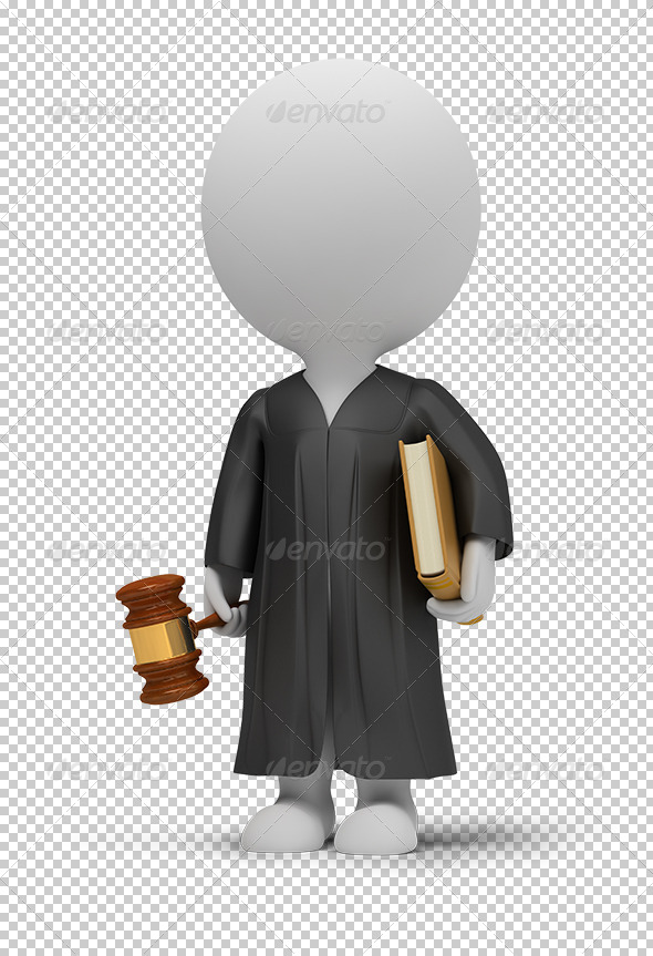 3D small people judge