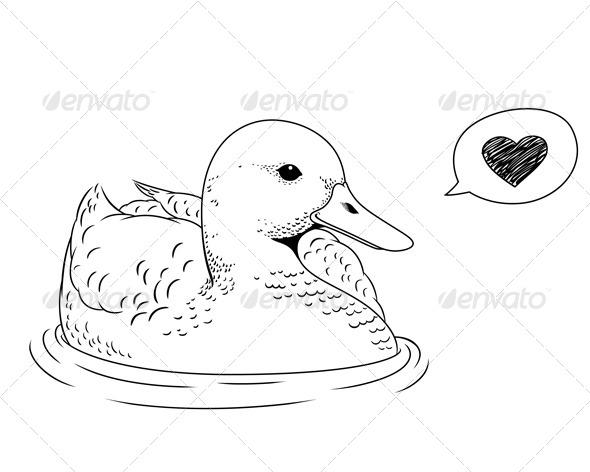 GraphicRiver Duck 5389238