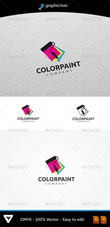 GraphicRiver ColorPaint Logo 5389817