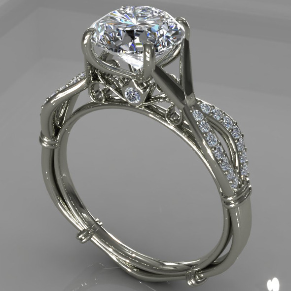 3DOcean Diamond Ring Creative 008 5392272