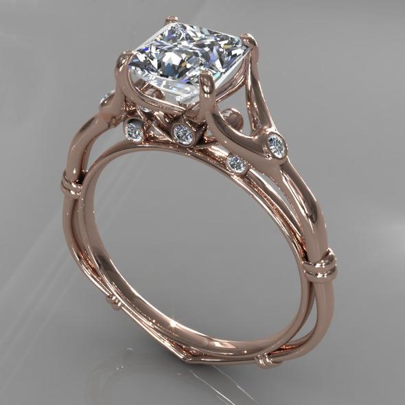 3DOcean Diamond Ring Creative 009 5392298