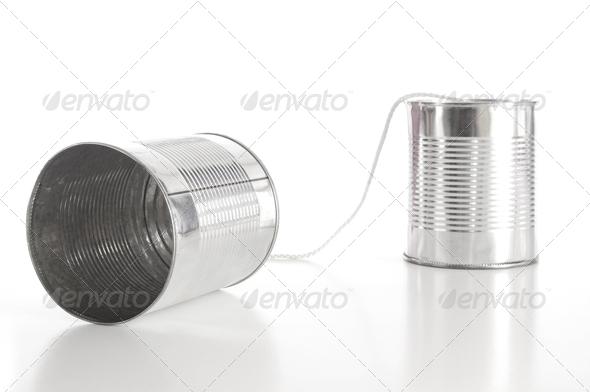 PhotoDune tin can phone 573240
