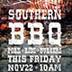 Southern BBQ Flyer Template - GraphicRiver Item for Sale